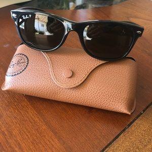 d6d5251909b Rayban new wayfarer polarized black sunglasses ...